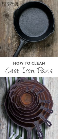 Once you get the hang of cooking with your cast iron pan, you'll never go back. Learn how to clean a cast iron pan like a pro with these helpful tips. If you care for it properly, it will last forever!