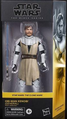 Star Wars Toys, Black Series, Obi Wan, Clone Wars, Action Figures, Concept, Models, Stars, Children