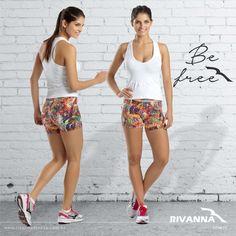 Qual seu treino para esta segunda-feira? Seja qual for, a Rivanna Fitness tem um look ideal.