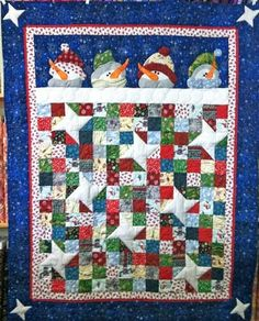 1000 Images About Christmas Winter Quilts On Pinterest