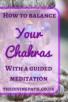 Guided meditation by Amanda Lindberg on how to balance your chakras