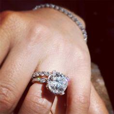 Stunning Noam Carver engagement ring, Noam Carver Engagement Ring #diamondring #diamond #engagementring #bling #engaged  sold at Barthau Jewellers, www.barthau.com