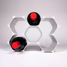 WineHive wine rack, I NEED this!