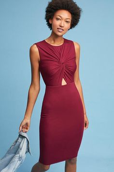 Knotted Cutout Dress | Shop Anthropologie