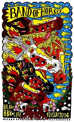 tattoo, punk, edgy, characters, illustration, illustrator, ricardo cavolo, animals, creatures, line art, colour, pop, spanish, folk, hand drawn, modern hip, iconic, portraits, book cover, clothing, magazine, badges, band of horses