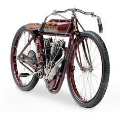 classic Indian motorbike.