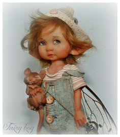 enaidsworld: fairy kinderen I have this one, Diane made her for me.