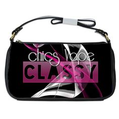 Classy Chics Vape Pink Smoke. Classy Chics Vape Pink Smoke  Evening Bag. The evening bag is relatively small in size, but also oozes elegance at the same time. Large enough to store your keys, wallets and cell phone, the interior is conveniently divided to separate compartments and pockets for easy access.Hand-crafted bag made from genuine leather.Design images printed on polyester using a heat dye sublimation technique to prevent color fading.Nylon interior with 2 internal pockets and a…