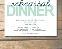 Before We Do We Eat Rehearsal Dinner Invitation by kedesignstudio