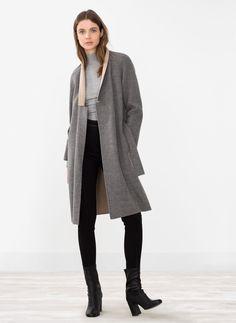 Reversible coat -  Uterqüe
