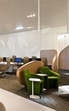 Airport Lounge Simulates An Urban Park To Soothe Harried Flyers | Co.Design | business + design: