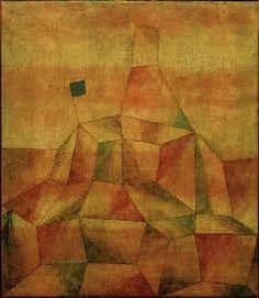 Paul Klee - Burghuegel, 1929.96 (S 6)