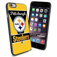 """Pittsburgh Steelers iPhone 6 4.7"""" Case Cover Protector for iPhone 6 TPU Rubber Case SHUMMA http://www.amazon.com/dp/B00T5LQS8I/ref=cm_sw_r_pi_dp_Wkzmvb1JQ01S3"""