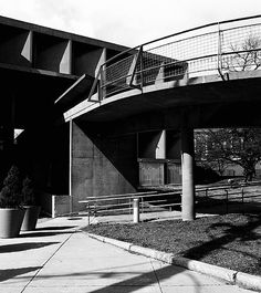 Carpenter Center, Harvard University, Cambridge, MA. by Le Corbusier in 1962