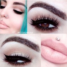 """A soft and elegant look by @__MissJazmina  paired with our Xtreme lashes """"NATASHA"""" ✨✨Visit us at www.FlutterLashes.com✨ #flutterlashes #makeup #beauty #lashes #natural"""