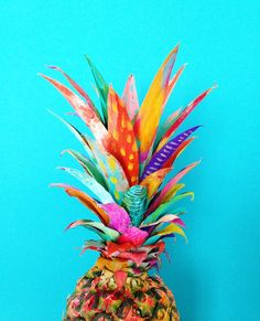 🍍🍉🌴🍍🍉🌴 Love this rainbow pineapple by Paris based artist - the LBL family has just touched down in Paris for the beginning of our European adventure & we will be hunting down your colourful shop ✨💕✨ Scenery Pictures, Cool Pictures, Poppies For Grace, Buzzfeed Diy, Pineapple Art, Pineapple Wallpaper, I Love The Beach, Tropical Vibes, Cartoon Wallpaper