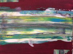 "Acrylmalerei - ""Zeitraffer""  -  Acrylmalerei auf Keilrahmen - ein Designerstück von Freaky-Stuff-Shop bei DaWanda"