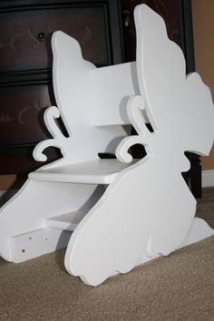 Toddler Chair. Children Furniture. Butterfly. Custom Design. Spots-4-Tots, LLC. Jacksonville, Florida. Children's Furniture. Kids. Girls. Boys. Themed Bed. Bunk bed. www.spots4totsplayhouses.com