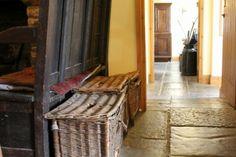 old wicker baskets