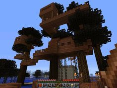 my minecraft treehouse by fitipaldi93 on DeviantArt