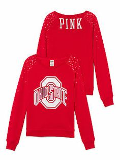 The Ohio State University Bling Crew to wear to work on game day! Nike Ohio State, Ohio State University, Ohio State Buckeyes, University College, College Hoodies, College Apparel, Auburn Alabama, College Outfits, Sport Fashion