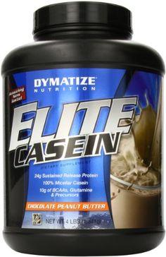 Dymatize Nutrition Elite Shake, Casein Chocolate Peanut Butter, 4 Pound - http://healthfitsociety.com/protein/casein-protein-products/dymatize-nutrition-elite-shake-casein-chocolate-peanut-butter-4-pound/