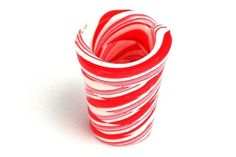 Tough day at the office, I could really use a shot right now. And what better way to celebrate the holidays then with the Candy Cane Shot Glass? - Neatorama #candy
