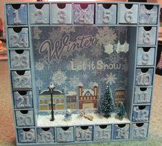 kaisercraft advent calendar - Scrapbook.com