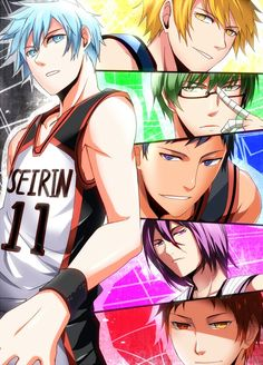 Kuroko no Basket--This anime is what got me watching sport genre animes. First off, the art is amazing and the characters are done really well. You really feel how the team is like a family.