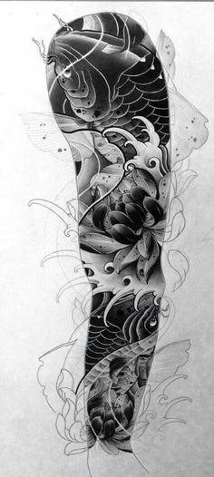 Tattoo Braço fechado  Tattoo braço fechado