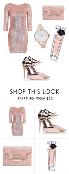 """""""Date Night!"""" by fashionlover818 ❤ liked on Polyvore featuring Topshop, Fratelli Karida, Lancôme and Olivia Burton"""