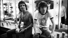 AC/DC | AC/DCs Bon Scott and Angus Young have moved on from Budweiser - to ...