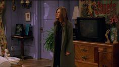 "The olive-green ""break-up"" coat"
