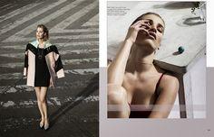 Kristine Garneviciute en VULKAN Magazine por Guillermo Cassar!