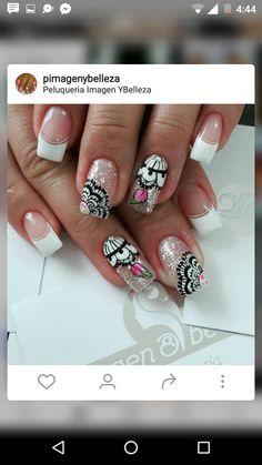 Acrylic Nails, Nail Designs, Hair Color, Make Up, Nail Art, Glamour, Beauty, Finger Nails, Feather Nail Art