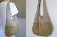 MES FAVORIS TRICOT-CROCHET: Modèle gratuit : Un sac d'été au tricot