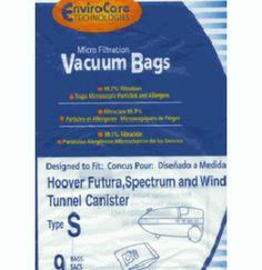 HOOVER VACUUM CLEANER - Bags type S - 54 bags >>> #VacuumBags #DirtBags #Vacuums #Hoover