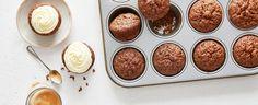 Mrkvové muffiny s polevou