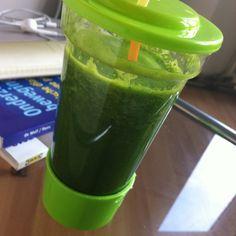 boerenkool + sinaasappel = power groene smoothie