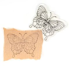 Hobbycraft Butterfly Clear Stamp