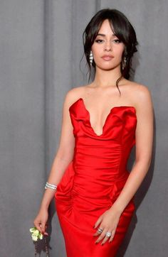 Fifth Harmony, Strapless Dress Formal, Formal Dresses, Beautiful Celebrities, Stunning Women, Woman Crush, Her Style, Girl Photos, Her Hair