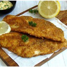 Filet de poisson pané maison