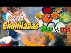 ENCHILADAS MICHOACANAS ESTILO P´URHÉPECHA CON PIEZAS DE POLLO Y VERDURA - YouTube