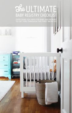 THE ULTIMATE BABY REGISTRY CHECKLIST FOR YOUR NEW LITTLE ONE!! + Some things mommy will need too. :)