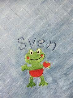 Spucktuck mit Sticki und Name von Bine´s bunte Welt auf DaWanda.com
