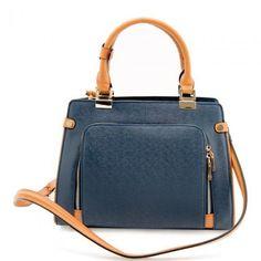 Eos Concealed Carry Purse Blue Handbag Bag Security Women's Handbags Burberry #Cameleon #ConcealCarryPurse