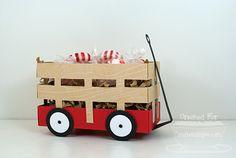 Wagon Treat Holder tutorial. Paper Pursuits: Wagon Template Tutorial