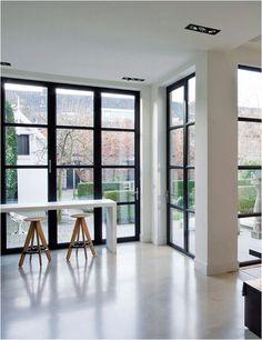 Windows with dark trim - zhush