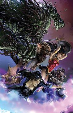 16 Revealed DC Comics Covers for December From Mitch Gerads, Francesco Mattina, Amanda Conner, Jae Lee and Dark Comics, Dc Comics Art, Comic Book Artists, Comic Books Art, Comic Art, Dr Fate, Jae Lee, Wonder Woman Comic, Justice League