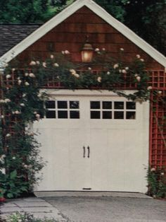 Garage Garage Roof, Garage Ideas, Studio Ideas, House Projects, Backyard Ideas, Outdoor Spaces, Climbing, House Plans, Shed